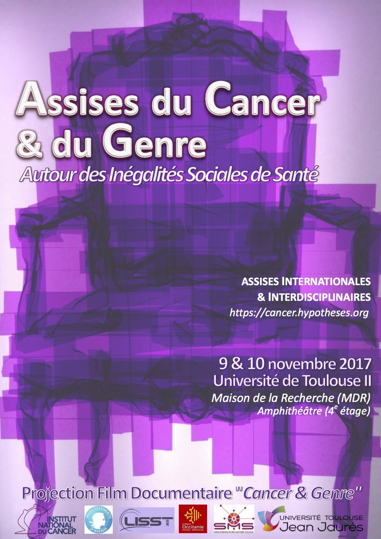 Affiche_Assises du Cancer & du Genre_9 & 10 Nov 2017_Amphi MDR_UT2J.jpg